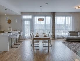 salle à manger condominium laval