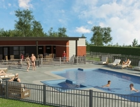 Projet square jean beraud phase e m trocit laval for Club piscine laval